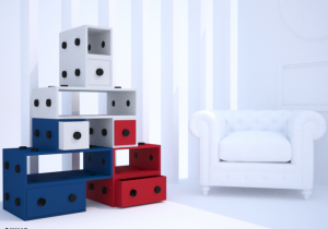 estantería Eiffel RoomBox3D