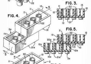Lego patent 1958